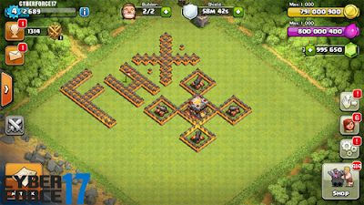 Download Game FHx Clash Of Clans Private Server APK 8.332.16 Terbaru 2017
