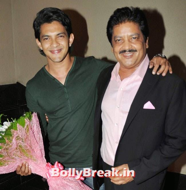 Aditya Narayan and Udit Narayan, Celebs at Celebrations of Shatrughan Sinha Lok Sabha Election success