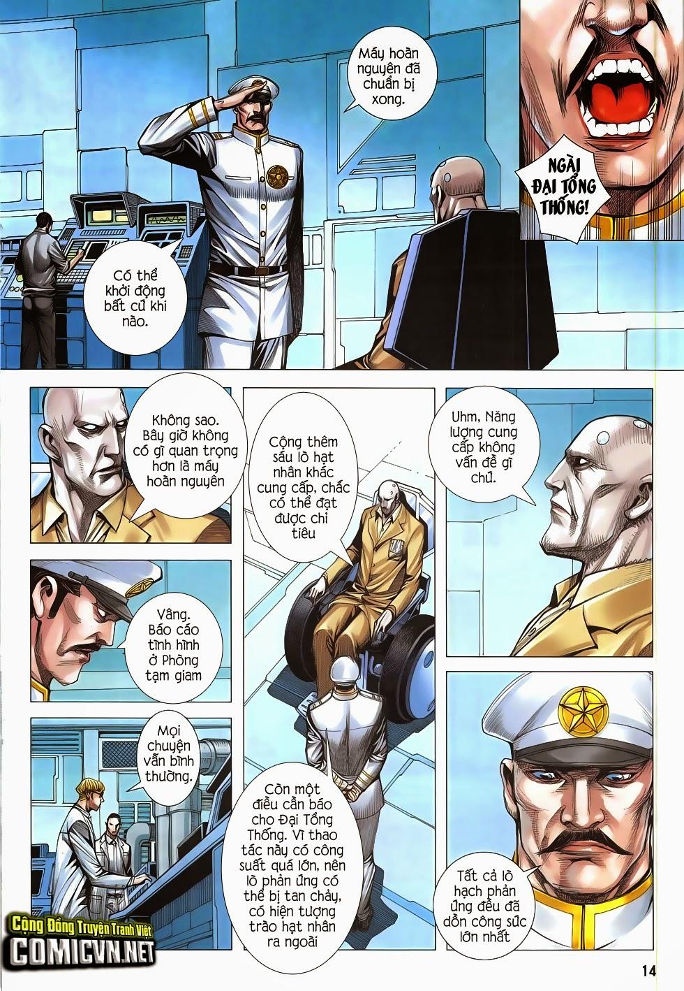 Đại Quân Phiệt chap 47: lời hứa trước khi thế giới chung kết trang 13
