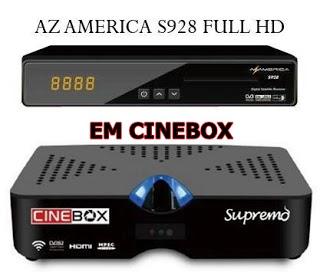 S928%2BEM%2BSUPREMO - AZAMERICA S928 EM CINEBOX SUPREMO NOVA ATUALIZAÇÃO MODIFICADA - 21/07/2017