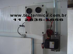 Figura 3 - Alarme Aprisionamento Câmara Fria Norma NR36, Caixa Sinalização Externa