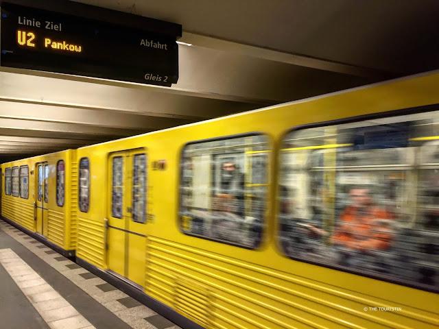 U Bahn Linie 2 Berlin, Pankow