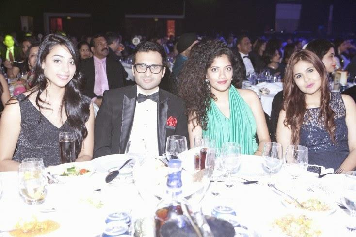 Sana Khan, Adel Sajan, Eisha Ramrakhiani and Aliyah Kassam, Masala! Awards 2014 Inside Pics