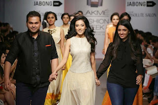 Amrita-Rao-in-See-through-Dress-at-Fashion-Show