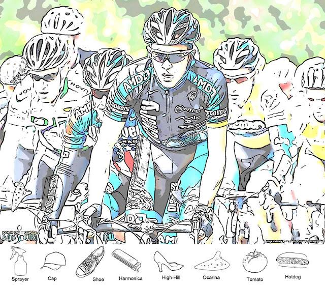 Cycling Race Hidden Objects Brain Teaser