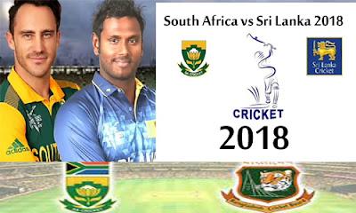 Latest Updates Of South Africa VS Sri Lanka 2018