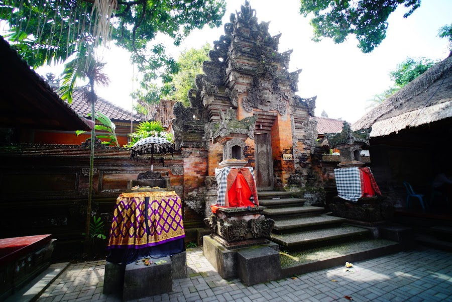 Ubud city center