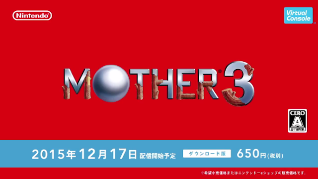MOTHER 3 Wii U Japan Virtual Console Nintendo Direct