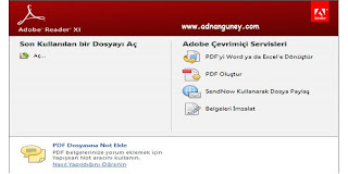 Adobe Reader XI  Yükle