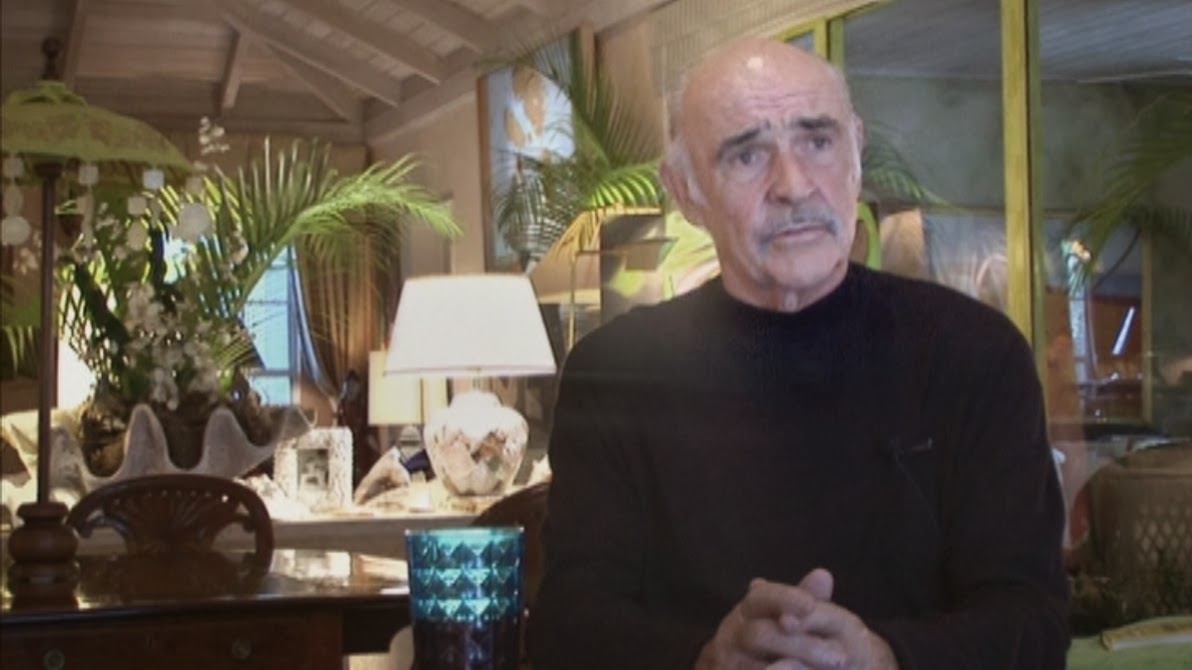 Sean Connery en un fragmento del documental Vangelis And The Journey To Ithaka