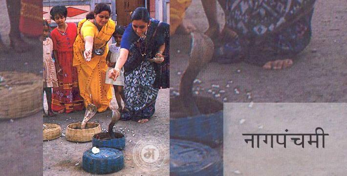 श्रावण शुध्द पंचमी - नागपंचमी - सण-उत्सव | Shravana Shuddh Panchami - Nag Panchami - Festival