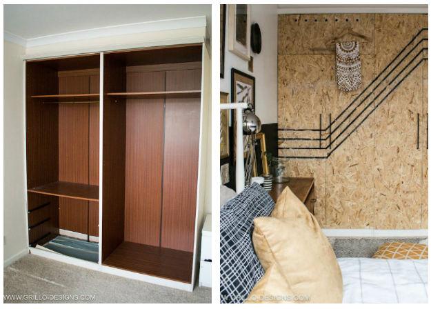 El antes y después de un viejo armario