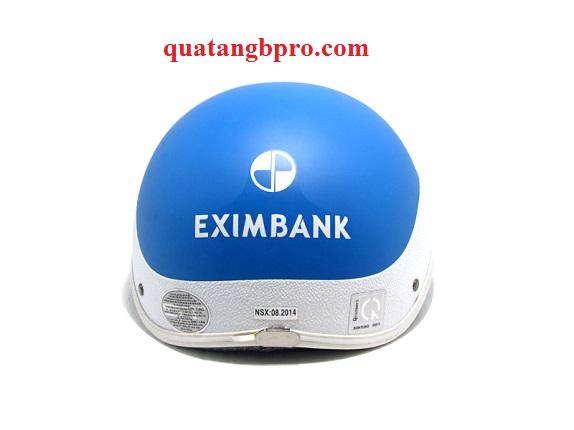 eximbank 2 - Mũ bảo hiểm Haly vòng cung nhám