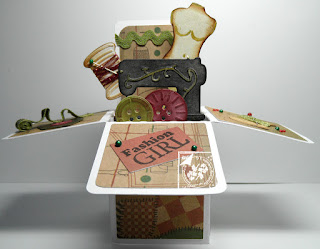 Image result for cards made using Joy 60020096 folding bag die