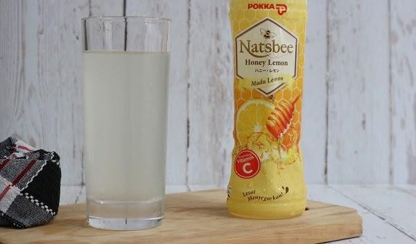 Nyobain Natsbee Honey Lemon, Minuman Madu Lemon untuk Hidup yang #AsikTanpaToxic