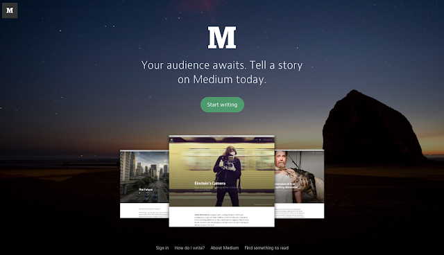Medium - Free Blogging Marketing Tool