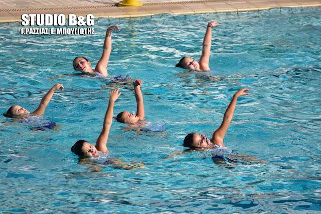 """Καλοκαιρινές κολυμβητικές επιδείξεις 2016 από τον """"ΕΥΡΟ"""" στο Ναύπλιο"""