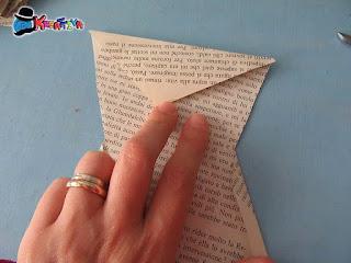 stella origami 3d piega da spigolo a spigolo