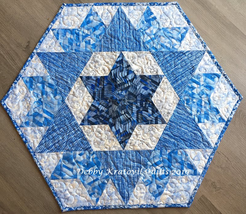 Star of David Table Topper