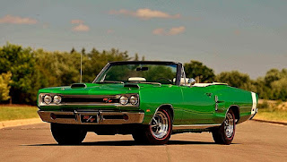 1969 Dodge Hemi Coronet RT Convertible Front Left
