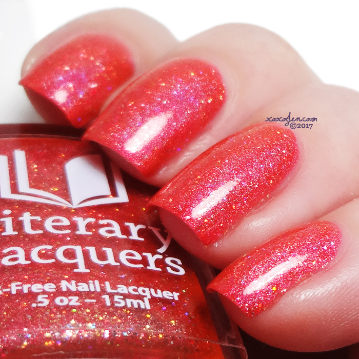 xoxoJen's swatch of Literary Lacquers Unspeakably Desirable