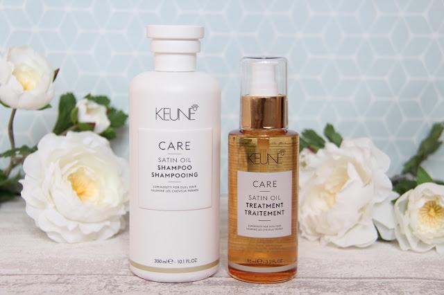 Keune Care Satin Oil pour des cheveux nourris et lumineux
