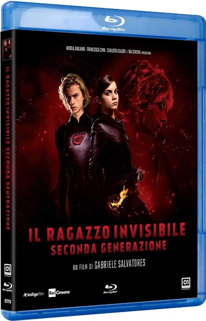 Il Ragazzo Invisibile: Seconda Generazione Home Video