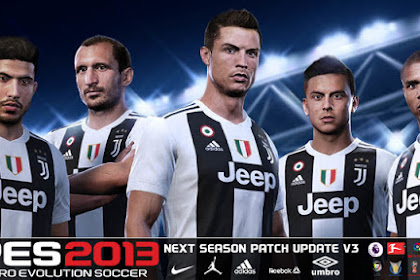 Free Download Patch for Update Game PES 2013 Latest Version