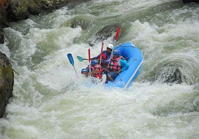 Rafting di Sungai Serayu