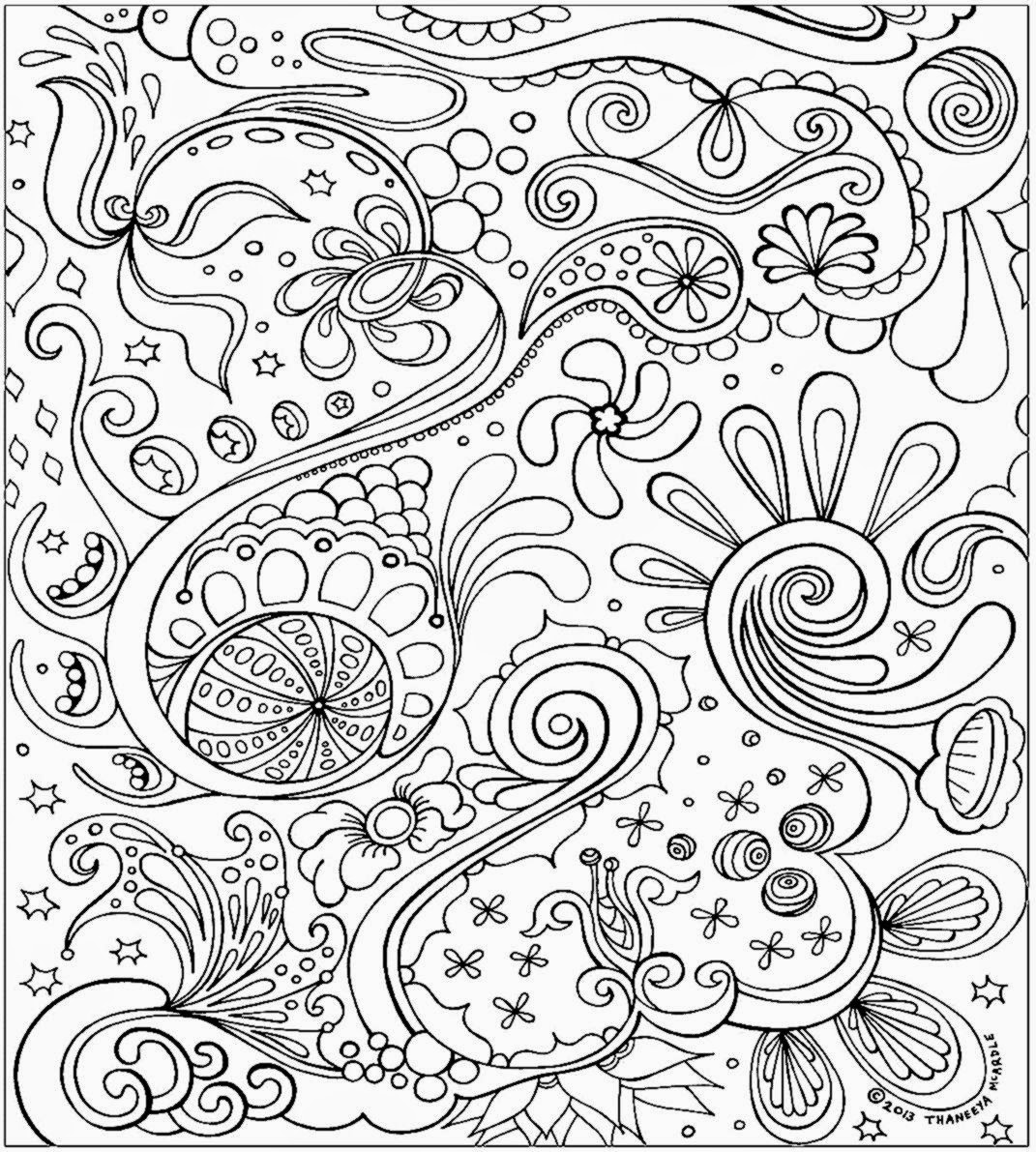 Coloring Sheets For Adults | Free Coloring Sheet