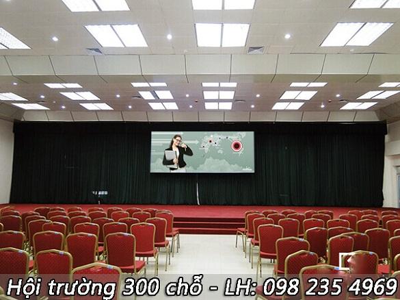 hội trường tổ chức hội thảo về CNTT tại hà nội