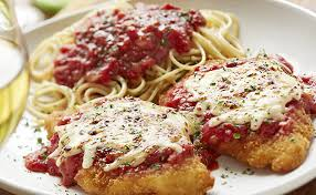 Italian specialties like Chicken Parmesan