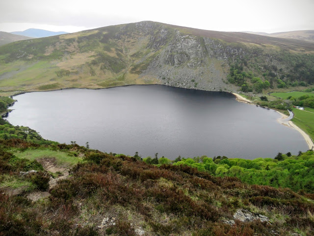 Wicklow Mountains Tour - Guinness Lake from Above