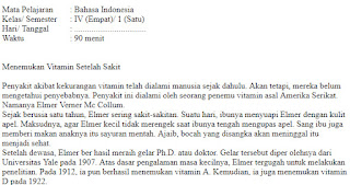 Soal-Ulangan-Ujian-Bahasa-indonesia-kelas-4-Semester-1-UAS-Bahasa-indonesia-kelas-4-SD