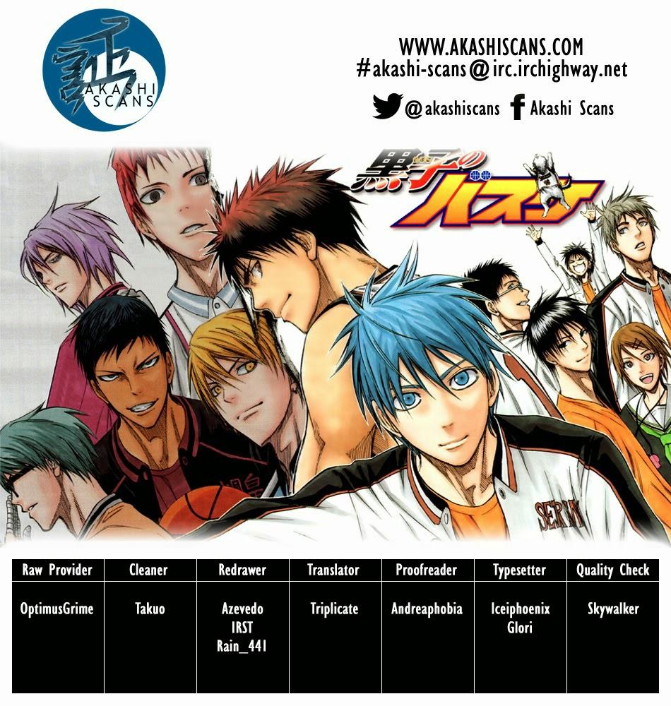 Kuroko No Basket chap 254 trang 3