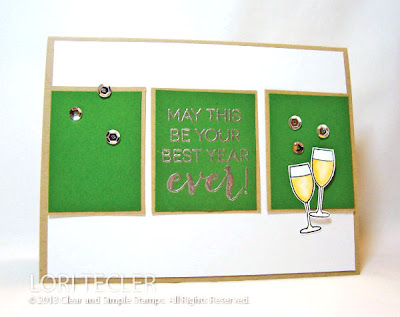 May This Be Your Best Year Ever-designed by Lori Tecler-Inking Aloud-stamps from Clear and Simple Stamps