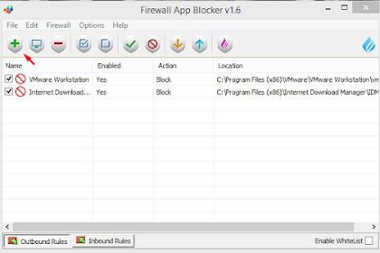 Cara Menggunakan Firewall App Blocker