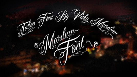 Mardian 12 Best Tattoo Fonts For A Name