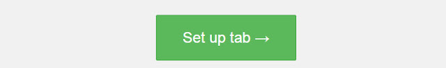 Setup tab Facebook
