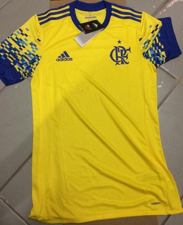 f2bbcb7e63 Nova terceira camisa do Flamengo tem imagem vazada - Show de Camisas