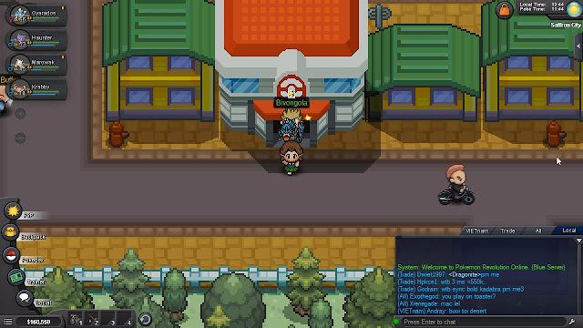 Hướng Dẫn Pokemon Revolution Online Part 6 - Gym Psychic