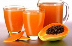 resep cara membuat jus jeruk manis pepaya yang enak