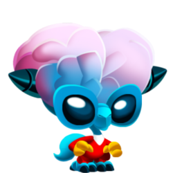 Appearance of Brainy Dragon when baby