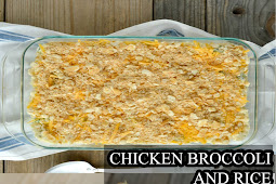 CHICKEN BROCCOLI AND RICE CASSEROLE RECIPES