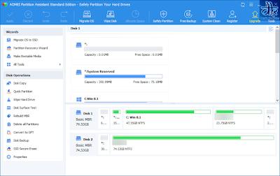 download aomei partition assistant gratis