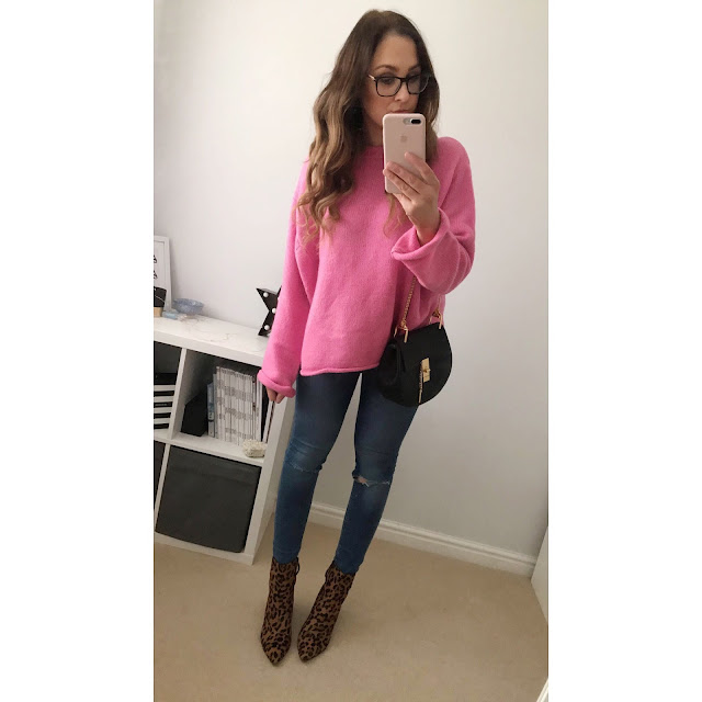 Zara_Oversized_Sweater_Pink