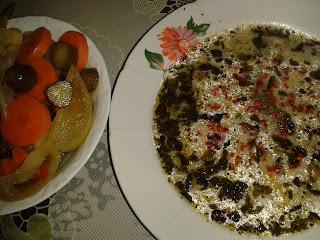 Yoğurt çorbası, ıspanaklı çorba, buğday çorbası
