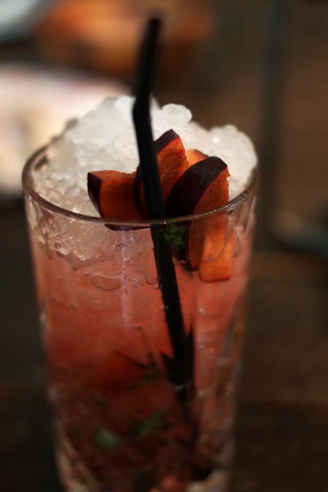Hello Freckles The Botanist Summer Cocktail Peach