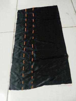 slip dress, refashion, sewing