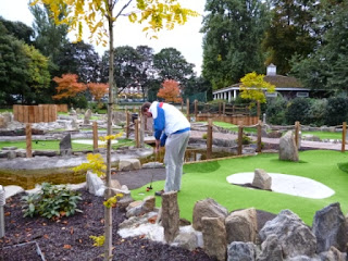 Putt in the Park Mini Golf Course at Wandsworth Park in London